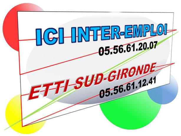 Ici-Inter-Emploi – ETTI Sud-Gironde