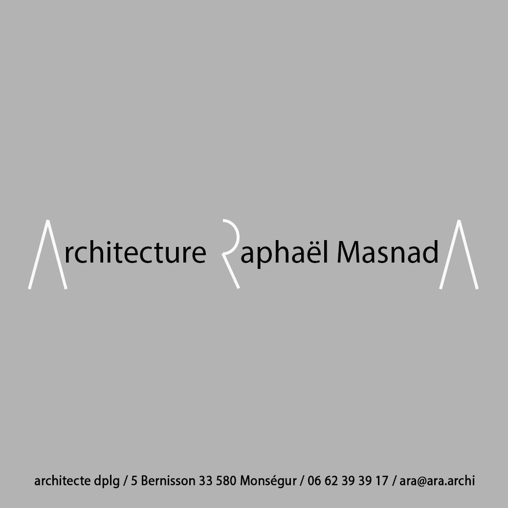 Architecture Raphaël MasnadA